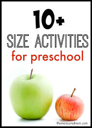 kindergarten activities big and small 10 big and small activities for preschool the measured mom