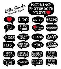 Wedding Photo Props Wedding Photo Booth Props Chalkboard Signs Printable Digital