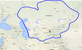 Map Of Central Asia Global Business Parks Central Asia Business Parks Industrial
