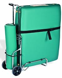 massage table cart for stairs amazon com earthlite traveler massage table cart sturdy massage