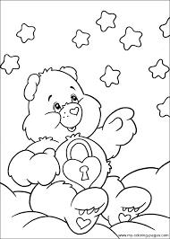 printable coloring pages u003e care bears u003e 33883 care bears coloring