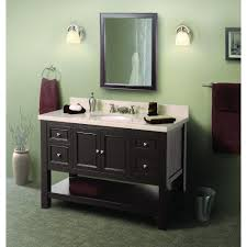 foremost gazette 42 in l x 16 in w wall mirror and wall cabinet