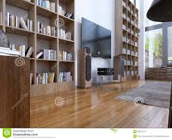 home library in modern style stock photo image 59220175