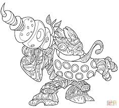 skylanders bubble blast coloring page free printable coloring pages