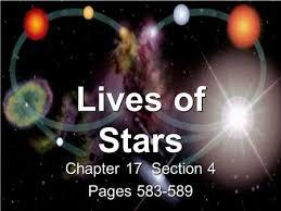 star evolution ppt video download