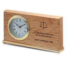 desk clock the lord a good lawyer desk clock executive gift shoppe