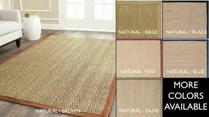 Pottery Barn Natural Fiber Rugs by Natural Fiber Rugs By Safavieh Nf115a 8 Youtube