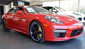 red porsche panamera 2016 porsche panamera turbo s exclusive for sale