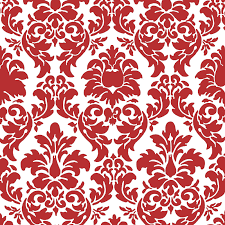 Red Damask Wallpaper Home Decor Doodlecraft Christmas In July Freebies