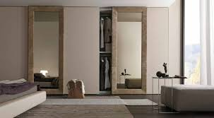 15 best collection of mirror wardrobe closet doors