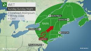 Weather Map New England by Downpours From Harvey To Dampen Part Of Labor Day Weekend In