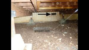 avoid blocking raised floor foundation vents deck building and