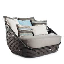 Contemporary Outdoor Sofa Kenneth Cobonpue Oasis Loveseat Style Slos 5530od Modern