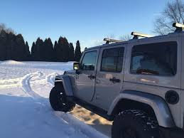 jeep wrangler snow tires 2014 jeep wrangler unlimited sahara jk aev 2 5
