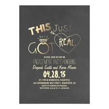 engagement party invites engagement party invitation this just got real zazzle
