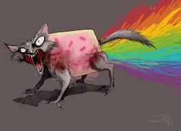 Nyan Cat Meme - art sci nyan cat meme fan art