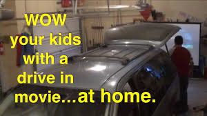 Diy Home Decor Magazines How To Setup A Drive In Movie Theater At Home Youtube Loversiq