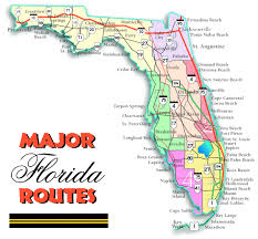 florida highway map florida outline maps and map links