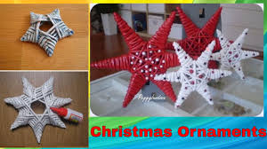 diy handmade christmas ornaments home decor xmas ideas 2016