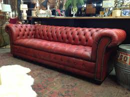 Tufted Living Room Furniture by Stylish Red Leather Tufted Sofa Locallivehouston Also Leather
