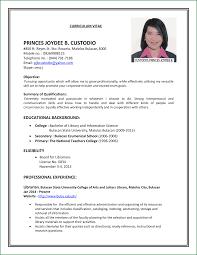 13 resume samples for first job applicationsformat info