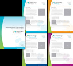 cec report cover and fact sheet templates brochure flyer design