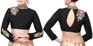 blouse pics high neck back keyhole designer blouse designer saree blouse