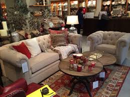 pottery barn charleston grand sofa pottery barn chesterfield grand sofa and club chair sat in at pb