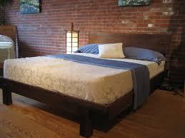 solid wood platform bed king including best images about frame