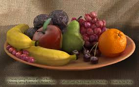 Fruit Bowl by Gallery Eias3d