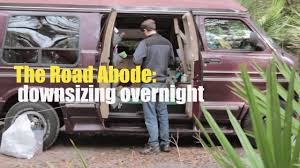 Downsizing Meaning Downsizing For Living In A Van Youtube