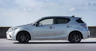 lexus ct200h sport lexus ct200h sport announced new colours with sporty black trims