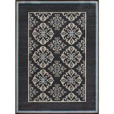 Grey And White Outdoor Rug Hampton Bay Outdoor Rugs Rugs The Home Depot