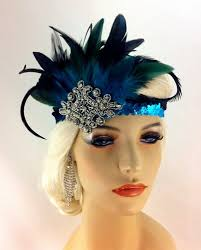 1920s headband flapper headband 1920 s headpiece deco great gatsby