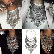 big crystal statement necklace images Cheap hot statement necklaces pendants vintage crystal maxi jpg