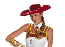 jessie and woody halloween costumes amazon com jessie glam costume hat u0026 bow set clothing