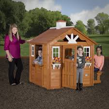 backyard discovery summer cottage playhouse kid u0027s perfect getaway