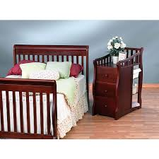 Princeton Convertible Crib Sorelle Princeton 4 In 1 Convertible Crib Changer Cherry