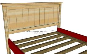 How To Build A King Size Platform Bed Ana White King Size Platform by Bed Frames Wallpaper Full Hd Ana White Farmhouse Bed With