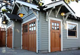 Cottage Style Garage Doors by Door Configuration For Our Garage Looking From Backyard Except