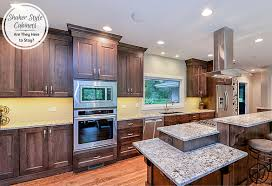 are brown kitchen cabinets still in style shaker style cabinets are they here to stay home
