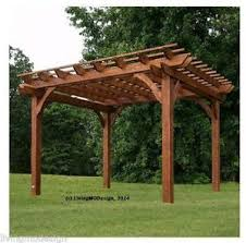 Wooden Pergolas For Sale by Pergola Arches U0026 Gazebos Ebay