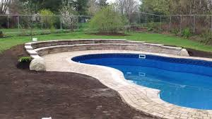 jonathan robert landscape design backyard pool with retaining