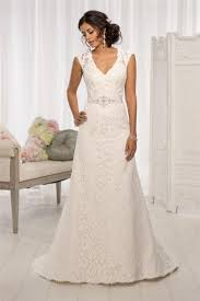 wedding dresses in the uk line lace v neck court lace wedding dresses uk l0005