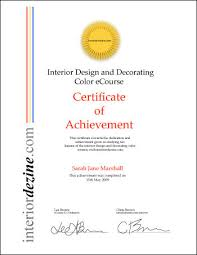 Free Online Home Interior Design Courses Interior Design And Decorating Color Certificate Information