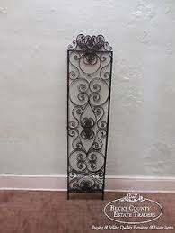 crown metalworks black decorative nail heads 12 pack 10037 the dummy strap hinge rustic cast iron dummy strap with fleur de lis