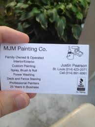 Business Cards St Louis Show Your Cards Business Cards Spinoff Paint Talk