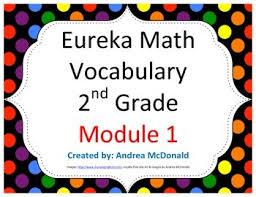 eureka math engage ny vocabulary 2nd grade module 1 common