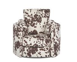 Klaussner Home Furnishing Transitional Reclining Swivel Chair By Klaussner Wolf And