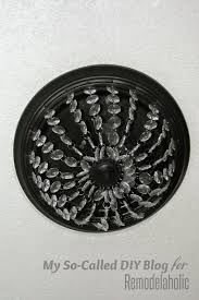 Replacement Glass For Flush Mount Ceiling Light Remodelaholic Update A Dome Ceiling Light With Faceted Crystals
